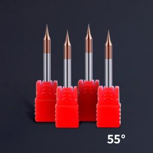 HRC55 Carbide 2 Flute Micro End Mill Micro-diameter tungsten steel milling cutter