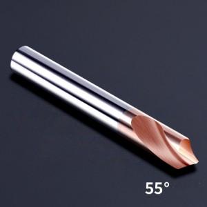 HRC55 Carbide NC Spotting Drills spot drill bit