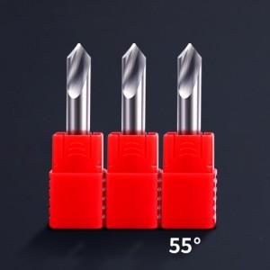 HRC55 carbide spot drill for Aluminium