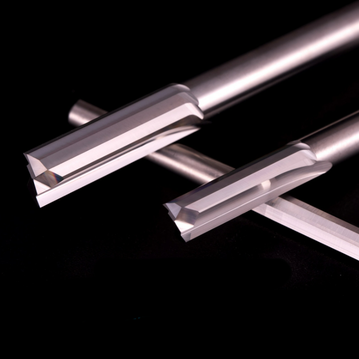 Carbide Tungsten Steel Double-edged Straight Slot Milling Cutter
