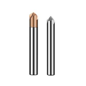 V Groove Carbide Chamfer Drill Bits