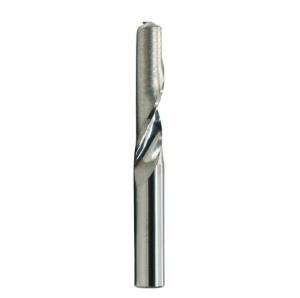 Single-edge flute end mill for aluminum