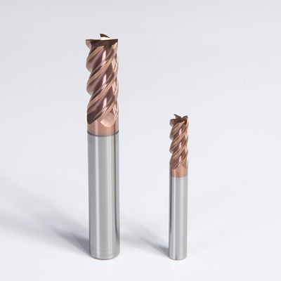 HRC60 4flutes tungsten end mill (1)