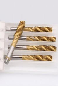 M35 Tin Right Hand Thread Spiral Flute Machine HSS Taps