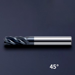 Rounded Corner End Mill Fillet End Mill Corner Radius Milling Cutter